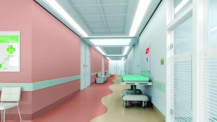 Piso hospitalar: qual é o mais indicado para esse ambiente?