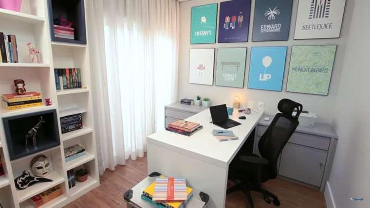 4 dicas sobre como decorar um home-office pequeno