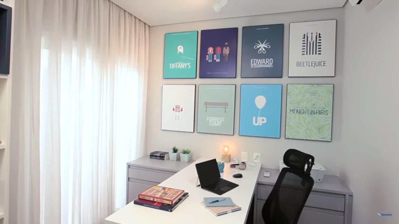 dicas-decorar-home-office-bancada-de-trabalho-vinílico-amadeirado-cortina