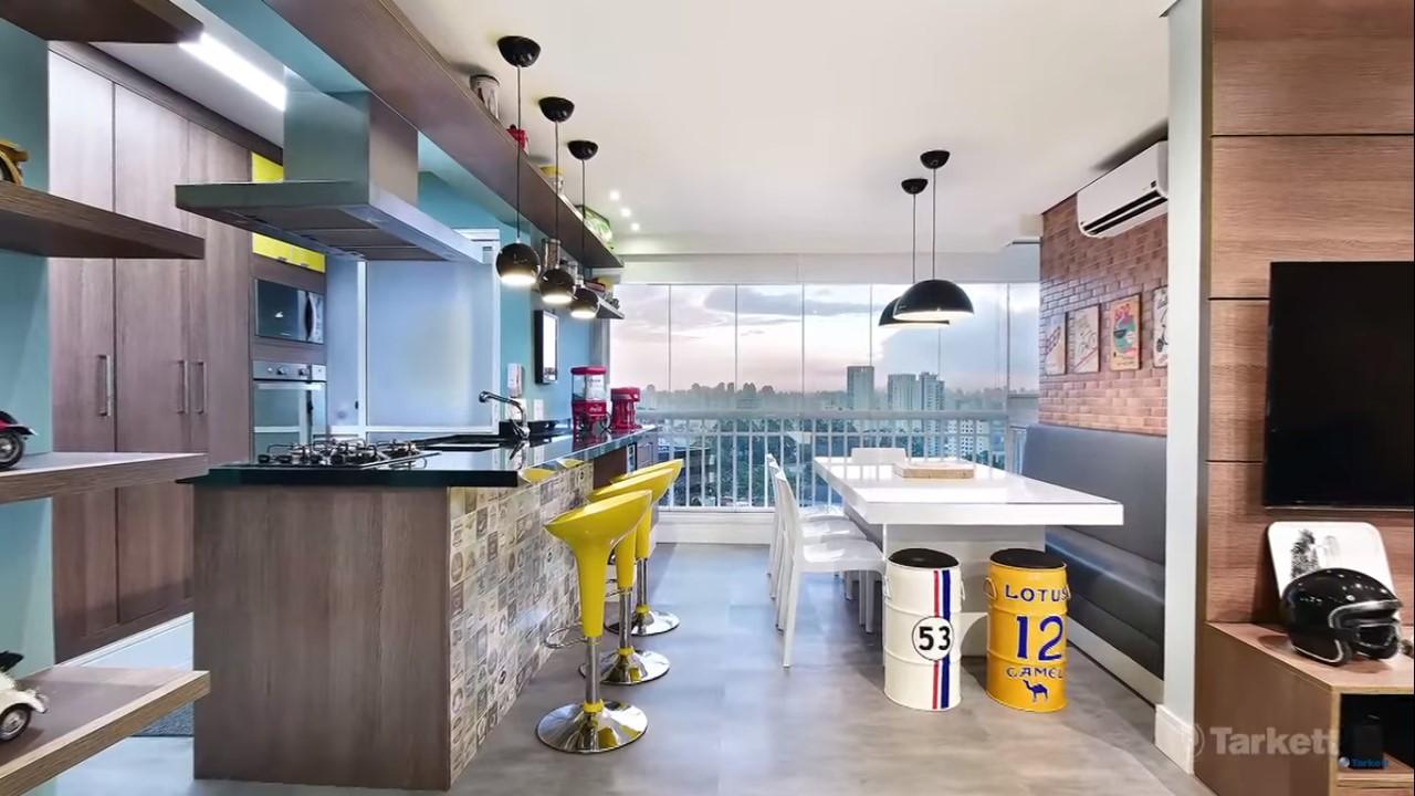 dicas-decorar-sala-piso-vinílico-cimento-queimado-ambiente-integrado-2